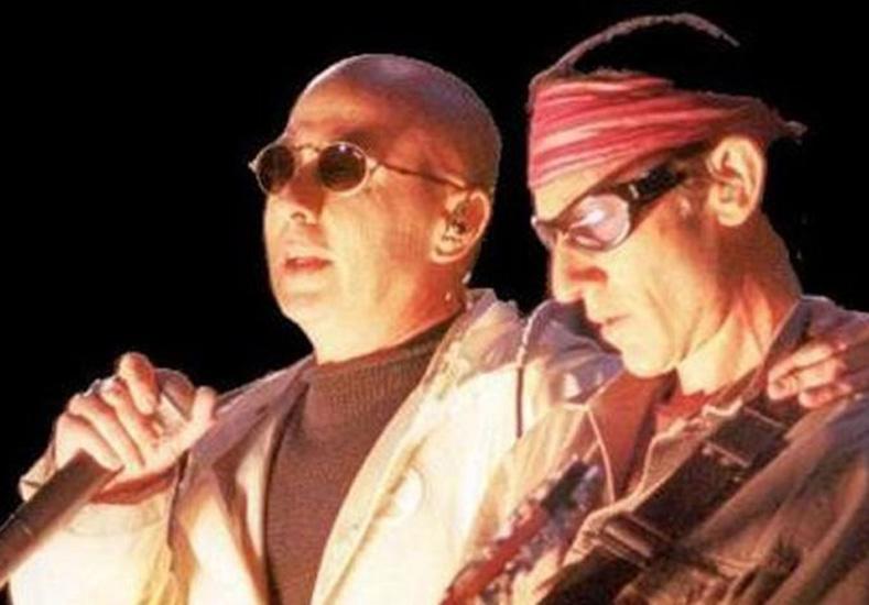 El Indio Solari y Skay Beilinson. Foto: Internet