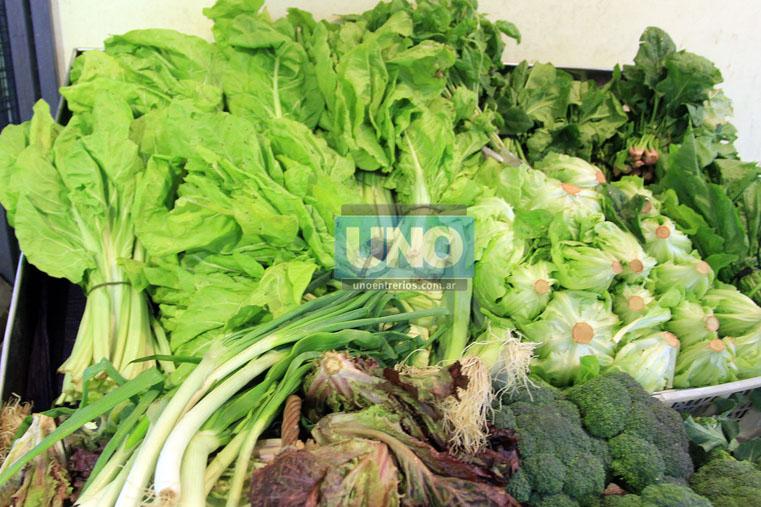 Onda verde. Acelga, espinaca y brócoli, son las verduras que mejor precio tienen. Foto UNO/Diego Arias