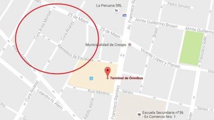 La casa está ubicada en calle Cura Arias de Montiel y Remedios de Escalada de San Martín.