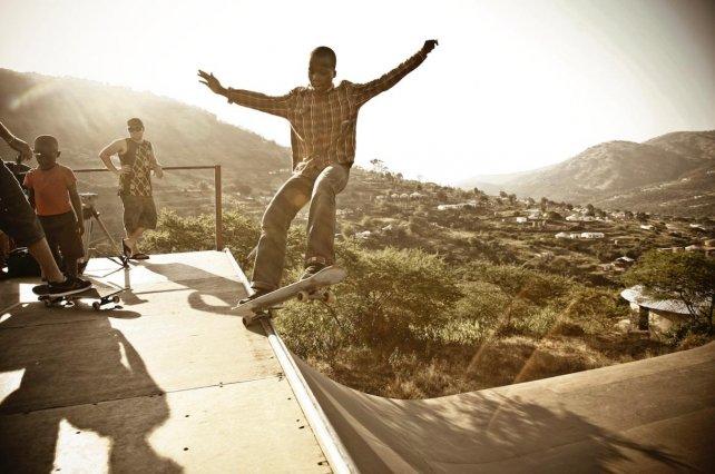 El campamento skate original de Indigo en Durban / Foto: Craig Scott