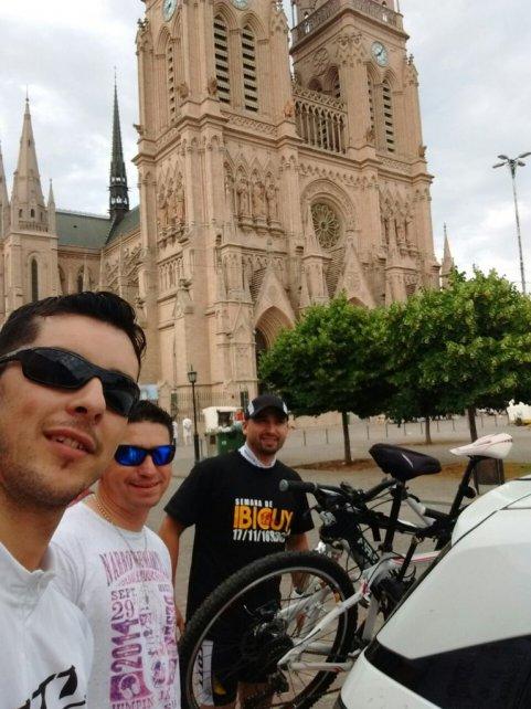 Selfie en Luján.