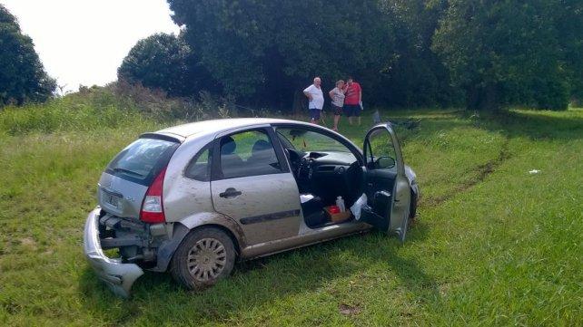 Los protagonistas del accidente. Foto PER.