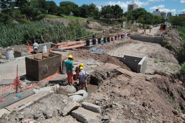En la obra sobre Moreno la Municipalidad de Paraná invertirá más de 13 millones de pesos. Foto <b>UNO</b> Juan Ignacio Pereira.