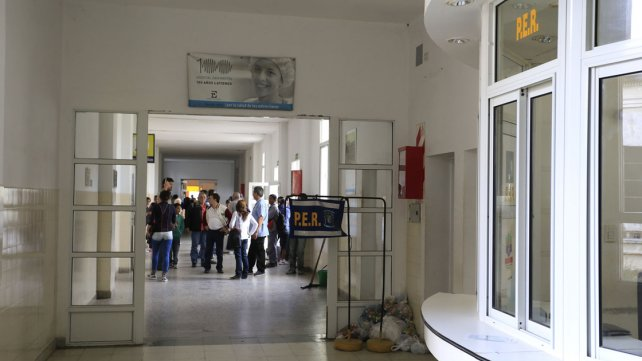 El herido fue operado en el hospital San Martín.