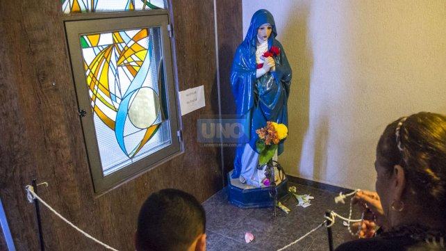 Veneración. En la Parroquia Santa Teresita habrá más misas durante este fin de semana.