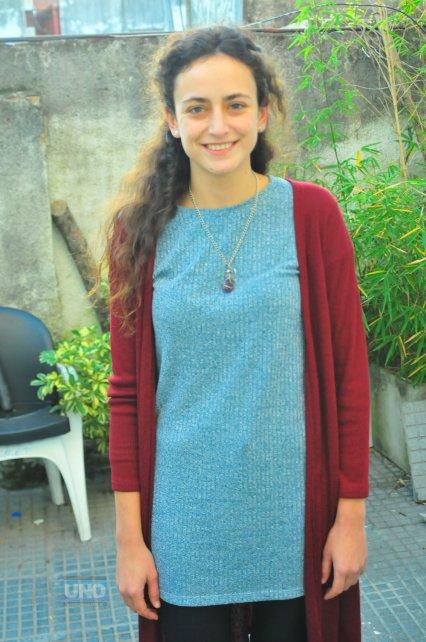 Nadia fue elegida para encabezar la lista de MST La Nueva Izquierda en la elección de medio término. Foto <b>UNO</b> Juan Manuel Hernández.
