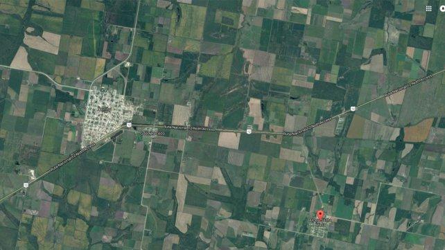 La Aldea San María se encuentra entre Cerrito y María Grande.