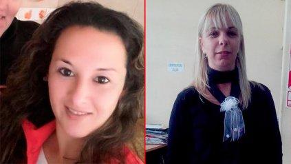 Romina Ibarra y Lidia Milessi