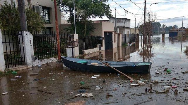 <b>Escenario complejo. </b>Con el paso de las horas, Concordia, Colón y Concepción sumarán más afectados.