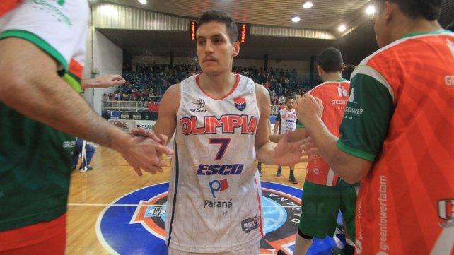 Alan Guanco fue elegido como el jugador más valioso de la final. Foto UNO Juan Ignacio Pereira