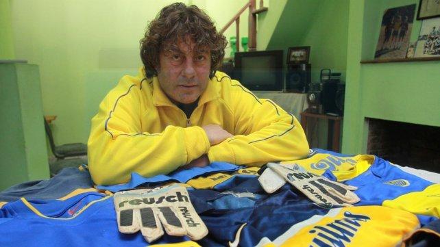 Pepa Sauthier, un histórico del fútbol local. Actualmente forma parte del cuerpo técnico de Hugo <i>Tony </i>Fontana en Arsenal de Viale. Foto <b>UNO</b>