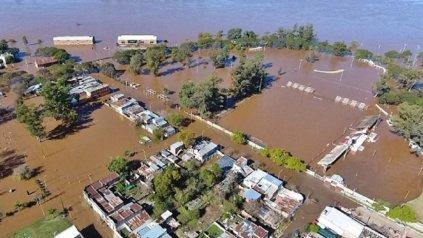 Baja el río Uruguay pero sube el Paraná en las costas entrerrianas