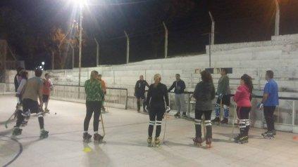 Escuela de Hockey sobre Patines para Adultos, en el PRC