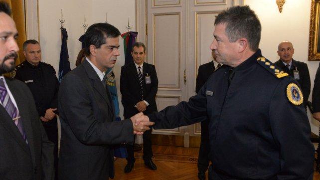 <b>Buen trabajo</b>. Roncaglia valoró los resultados de los policías de Paraná.