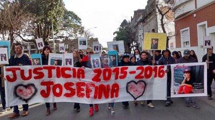 Reclamo. Tras dos años de marchas, la familia de Josefina espera una condena ejemplar.