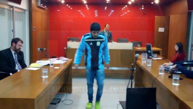 El Gato le pidió explicaciones al juez. Foto <b>UNO</b> Javier Aragón.