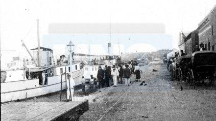 Otros tiempos. Puerto Viejo, un polo fabril y comercial.