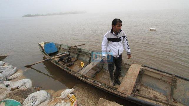 Miguel López es pescador desde hace más de 30 años.