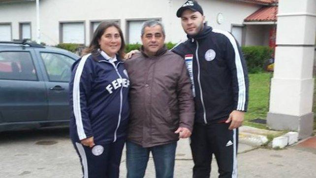 El presidente de Toritos, Raúl Arrúa, recibió a la delegación de FEPEFU Paraguay.