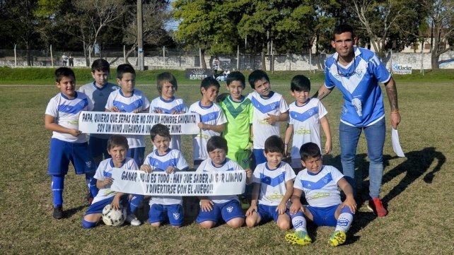 Sportivo Urquiza se sumó a la competencia y participa con la categoría 2009. Foto <b>UNO </b>Mateo Oviedo