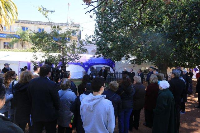 Acto por el 23º aniversario del atentado a la AMIA
