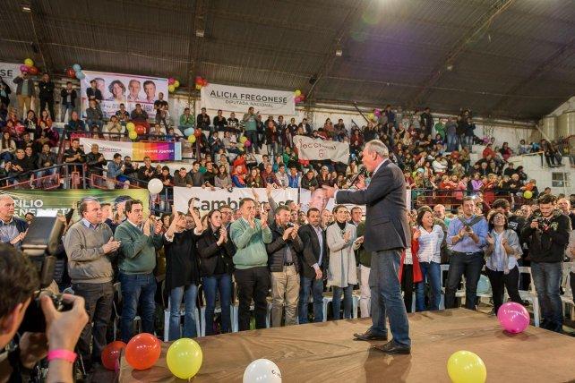 Atilio Benedetti encabeza la lista de Cambiemos en Entre Ríos.
