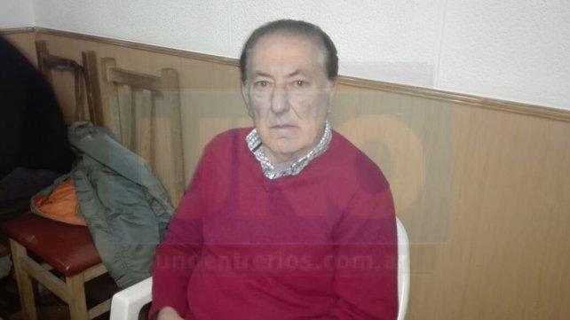 El exárbitro nacional Isidoro Semel estuvo presente en los festejos del día del niño.