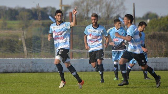 Exequiel Comas marcó el segundo tanto de Belgrano. Foto&amp;nbsp;<b>UNO&amp;nbsp;</b>Mateo Oviedo