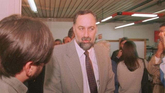 <b>Ministro de Gobierno</b>. Carbó tenía a cargo la cartera política en la gestión de Montiel.