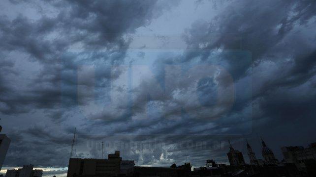 <b>Aviso meteorológico.</b> La lluvia llegaría en la noche al norte de Entre Ríos.