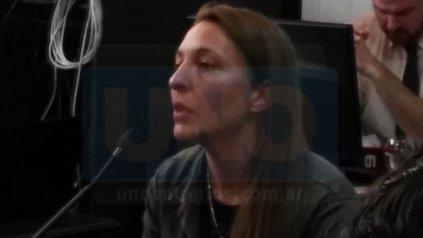 Lorena Bianchi, 34 años, exempleada del Rawson: almacenamiento y provisión.