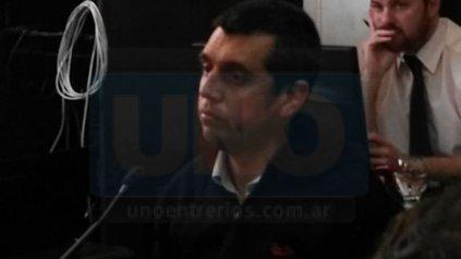 Victorio Aguirre, 43 años, exdirector de la UP6: guarda de sustancia de estiramiento.
