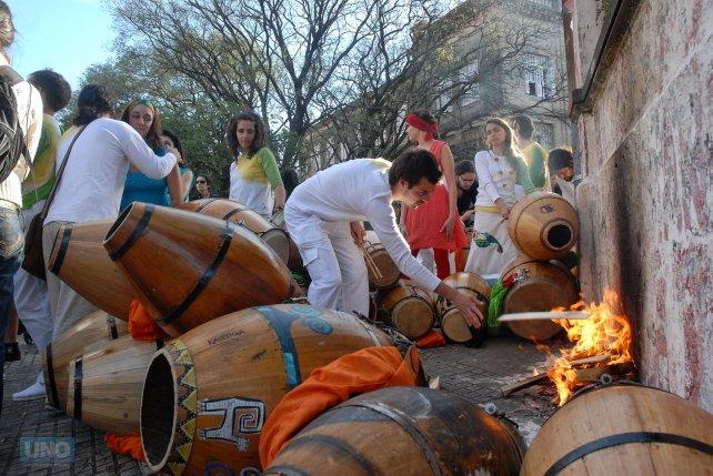 Foto <b>UNO</b> Archivo. Contrafestejo 2009.