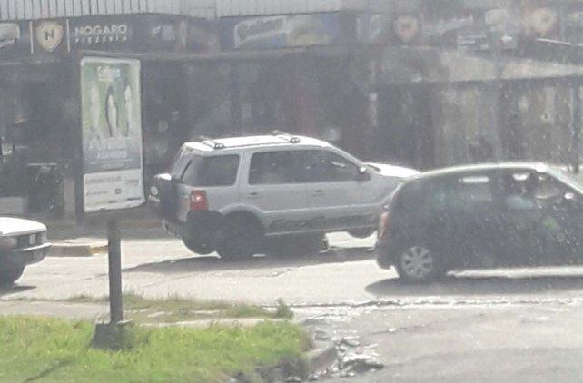 El conductor tomó la foto desde Fraternidad.